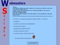 Webmasters Scripts